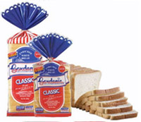 Classic White Bread Regular Slice 600g and 400g