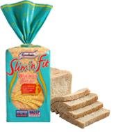 Slim n Fit Wheaten Bread 350g