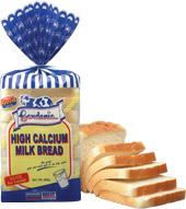 High Calcium Milk Bread 400g