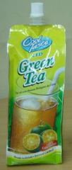 Cool Taste Green Tea with Calamansi
