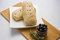 Whole Wheat Rosemary & Black Olives