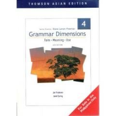 Grammar Dimmensions: Form, Meaning 4, Use, 4/e