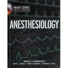 Anesthesiology book
