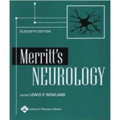 Merritt's Neurology book