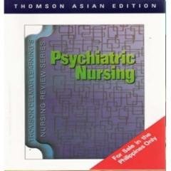 TDLNRS: Psychiatric Nursing,  1/e,  c2007...