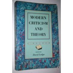 Modern Criticism & Theory book