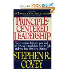 Principle-Centered Leadership by Stephen R....