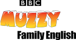 BBC Muzzy Family English educational materials