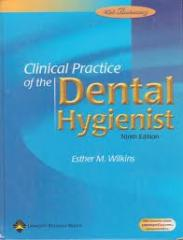 Clinical Practice of the Dental Hygienist book