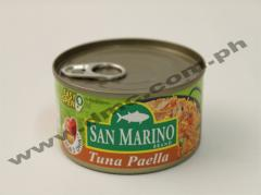 San Marino Tuna Paella