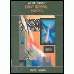 A First Course in Computational Physics book
