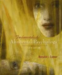 Fundamentals of Abnormal Psychology book