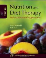 ABC's of Nutrition and Diet Therapy book