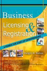 Business Licensing and Registration book