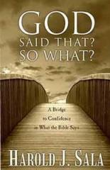 God Said That? So What? books