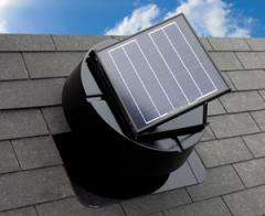 Solar Attic Extraction Fan