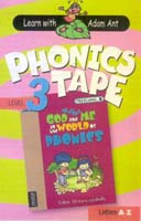 Phonics Alphabet Tape,  Preschool 3 book