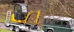 JCB Compact Excavator 8020