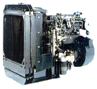 1000 Series 132 to 165 kVA engine