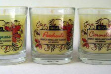 Natural Insect Repellant Candles