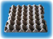 Pulp-Tech molded paper egg trays