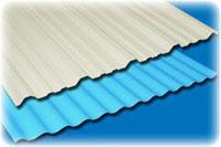Metalplas thermoplastic roofing sheet