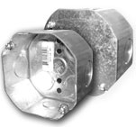 Octagon / Junction Boxes 4""