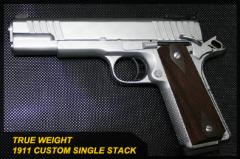 True Weight 1911 Custom Single Stack gun