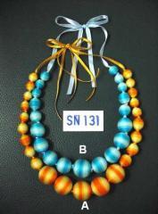 Yellow & Orange necklace