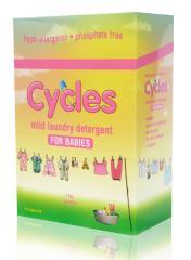 Cycles 1kg powdered detergent
