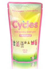 Cycles 250ml liquid detergent