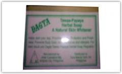 Dagta Tawas-Papaya Herbal Skin Whitening Soap