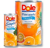 Pineapple Orange Juice Drink