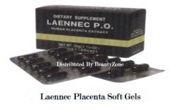 1 box 100 caps Laennec Placenta Soft Gel