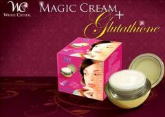 White Crystal Beauty Care cream