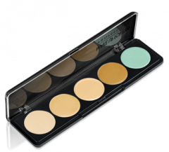 5 Camouflage Cream Pallete Daily Protective