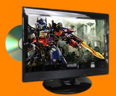 LCD TVs w/ Built-in DVD Player