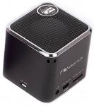 Nakamichi MyMini plus with FM Colour Black speaker