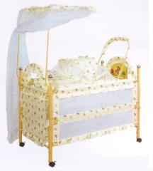 Children's bed 2810 Crib w/ Indoor Stroller