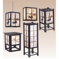 Baishi's Andon Lamps and Tatami Lamps