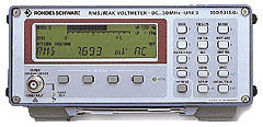 R&S®URE3 RMS Voltmeter