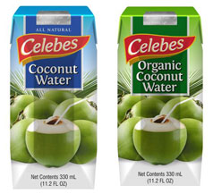 Organic Coconut Water - Canned, Aseptic, or Frozen