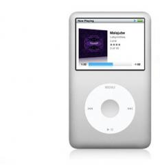 IPod classic player