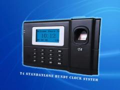 T4 Standalone Fingerprint Bundy Clock System