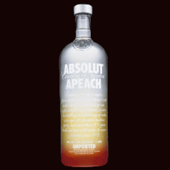 Absolut Apeach 1L Vodka