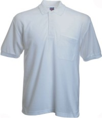 Style #104 - Lifeline Classic White Sport Shirt w/
