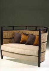 Double sofa semicircular