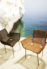 Beach chairs wicker