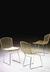 Chairs on the metal-based