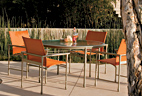 APRIOA set of chairs and tables